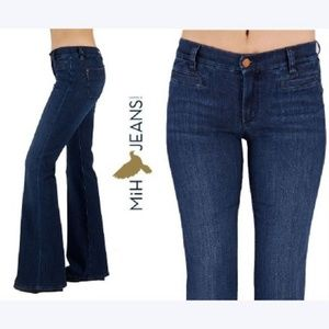 MiH MARRAKESH High Rise Kick Flare Bond Wash Jeans
